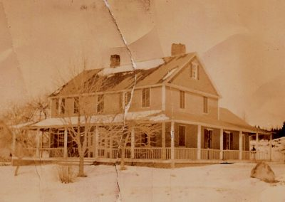 Urann house circa 1900
