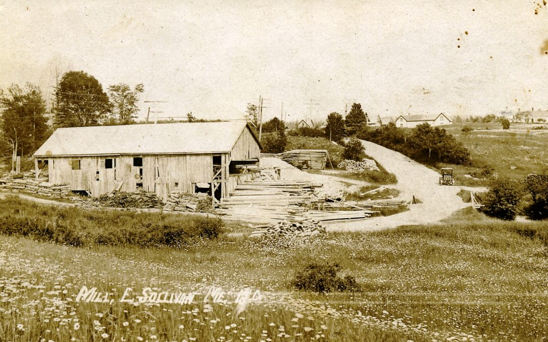The First Sawmill in Sullivan