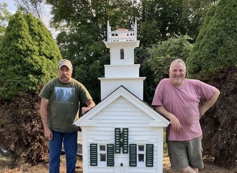 East Sullivan Union Church Replica Repaired by Generous Residents
